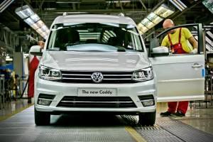 Volkswagen Caddy четвертого поколения