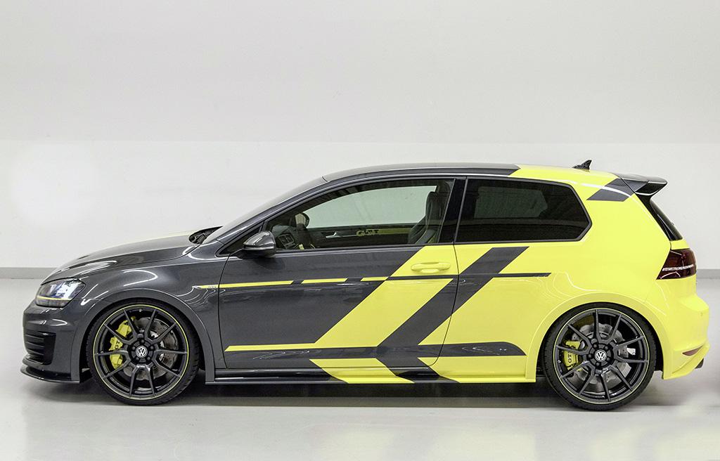 Концепт Volkswagen Golf GTI Dark Shine