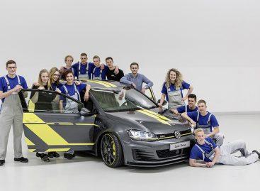 Стажеры Volkswagen показали новый концепт Golf GTI Dark Shine