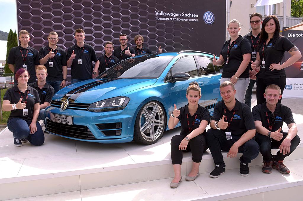 Концепт Volkswagen Golf Variant Biturbo Edition