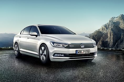 Volkswagen выпустил новый Passat BlueMotion