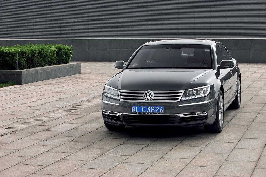 Volkswagen Phaeton I (рестайлинг)