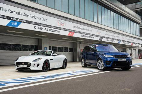 Тест-драйв Range Rover Sport SVR и Jaguar F-type AWD: Автоспорт для чайников