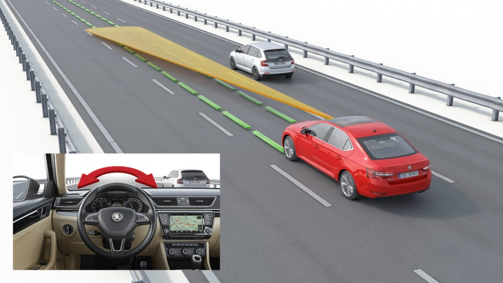 Skoda Superb Line Assist