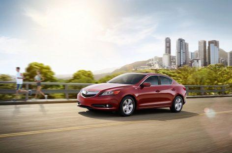 Acura получила награду за высокую остаточную стоимость