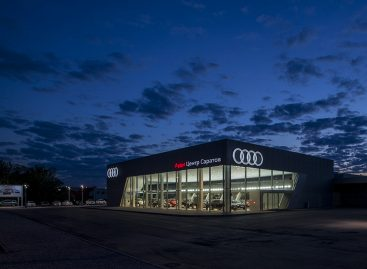 Открылся новый центр Audi в Саратове