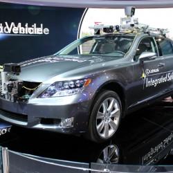Беспилотник Lexus с инновационными системами безопасности