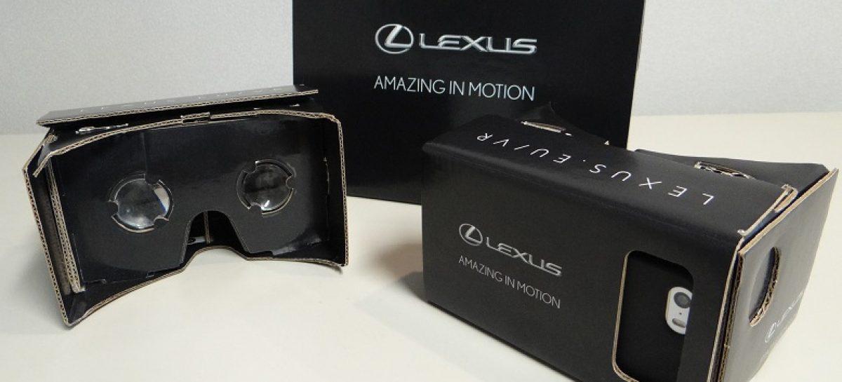 В виртуальную реальность с Lexus RC F