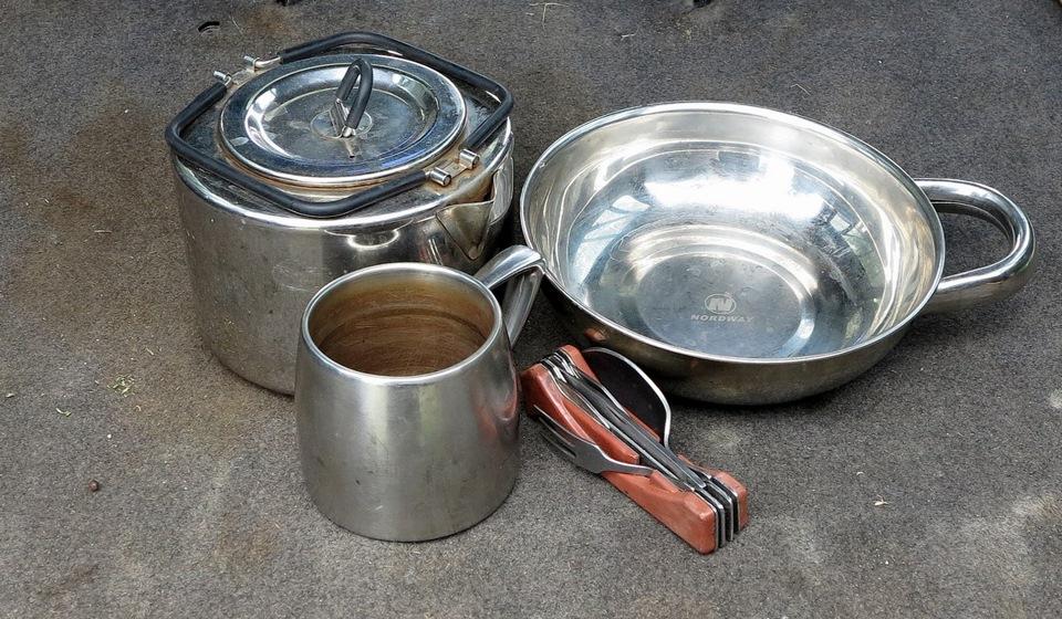 Чайник Tatonka и прочая посуда