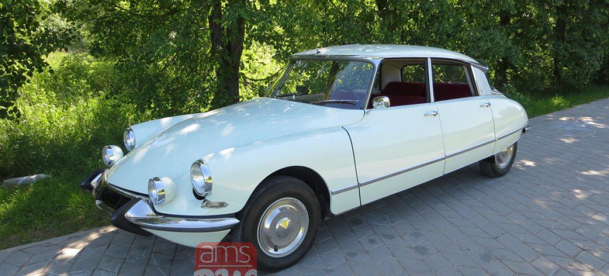 Автомобиль, ставший легендарным: Citroen DS 19