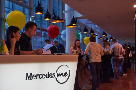 Mercedes me Store — 1 год!