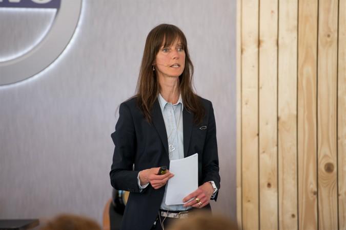 Директор Центра безопасности Volvo Cars в Гётеборге Сесилия Ларссон