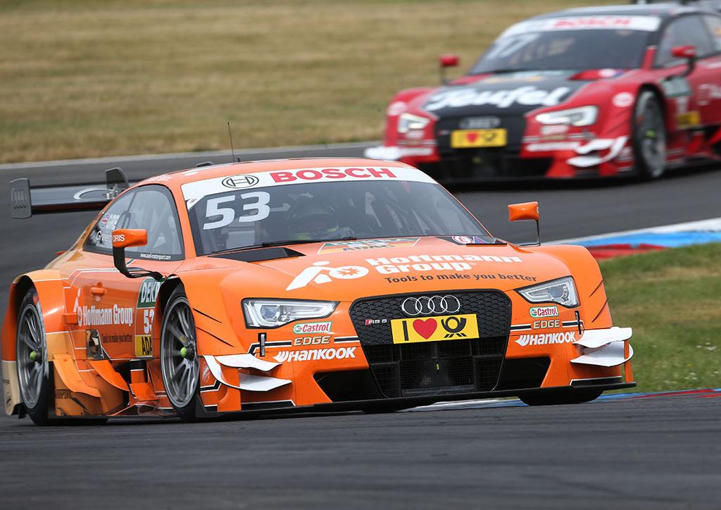 Джейми Грин на Audi RS 5 DTM