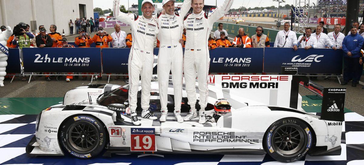 Двойная победа Porsche 919 Hybrid в Ле-Мане
