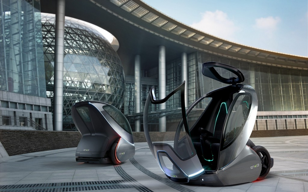 Электромобиль General Motors En-V