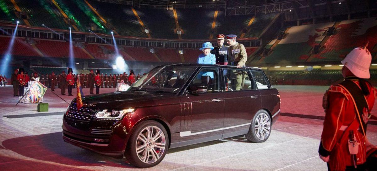 Land Rover сделал парадный внедорожник для королевы Елизаветы
