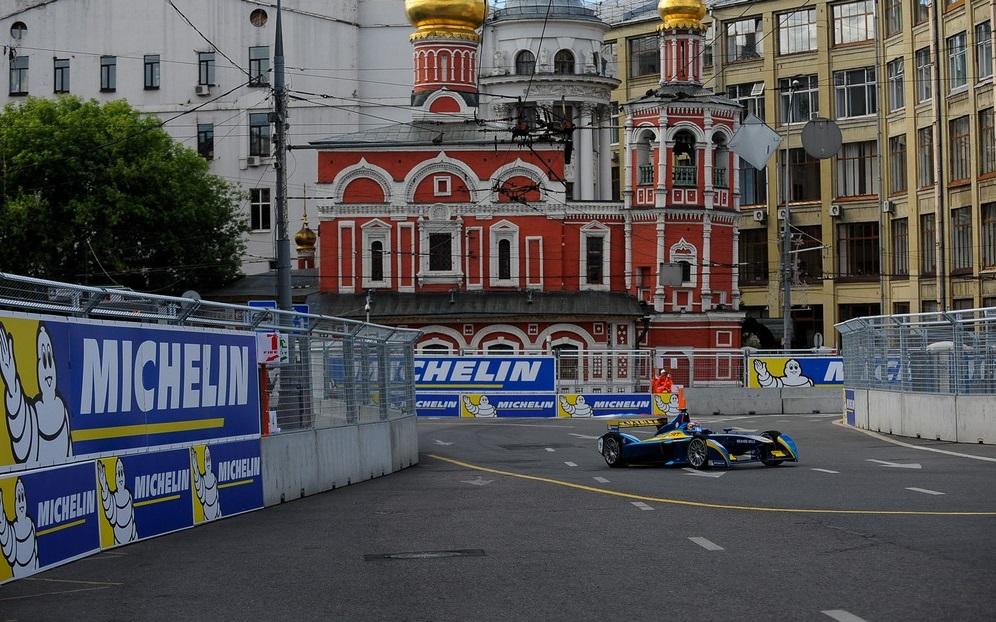 Гонки Formula E в Москве
