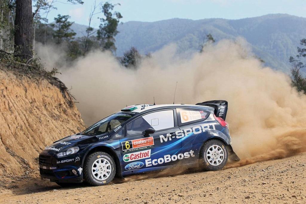 Гоночная команда M-Sport на Ford Fiesta RS WRC