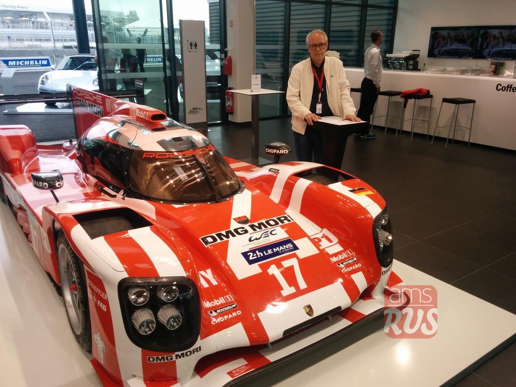 Гоночный Porsche-919 Hybrid