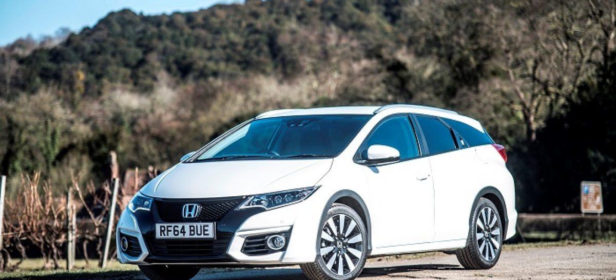 Honda Civic Tourer признан самым экономичным автомобилем