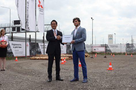 Mitsubishi открыл первый внедорожный парк