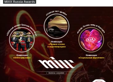 KIA Motors Rus стала призером MIXX Russia Awards