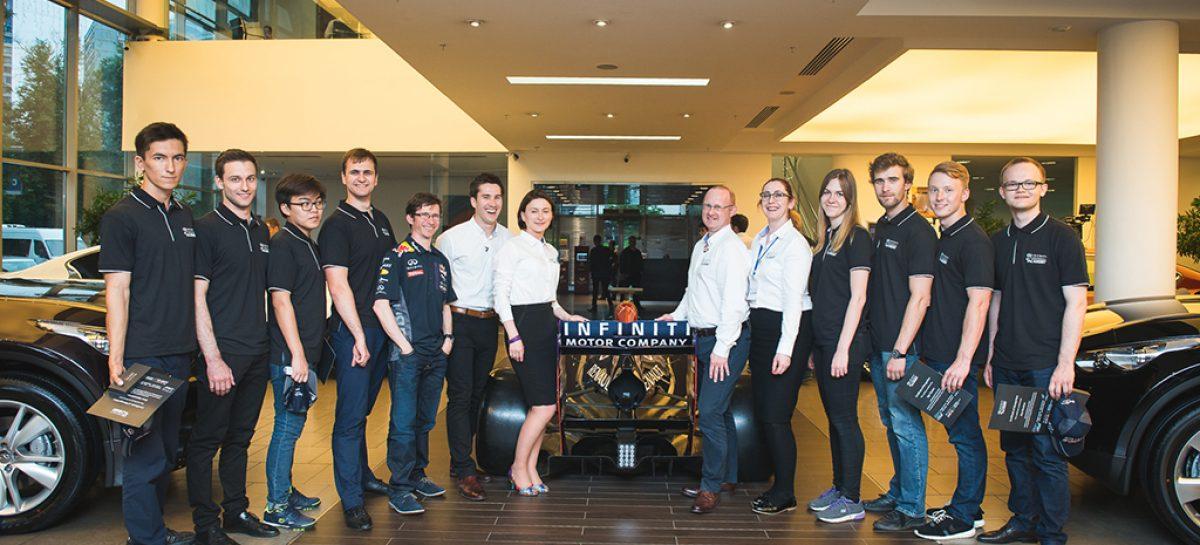 Infiniti отбирает студентов для команды Infiniti Red Bull Racing