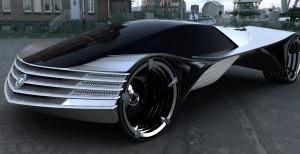 Концепт автомобиля на ядерном топливе Thorium Concept Car