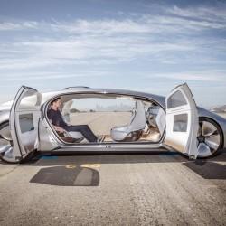 Концепткар Mercedes F105