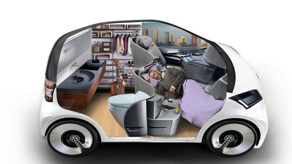 Концепткар Volkswagen Trimaran