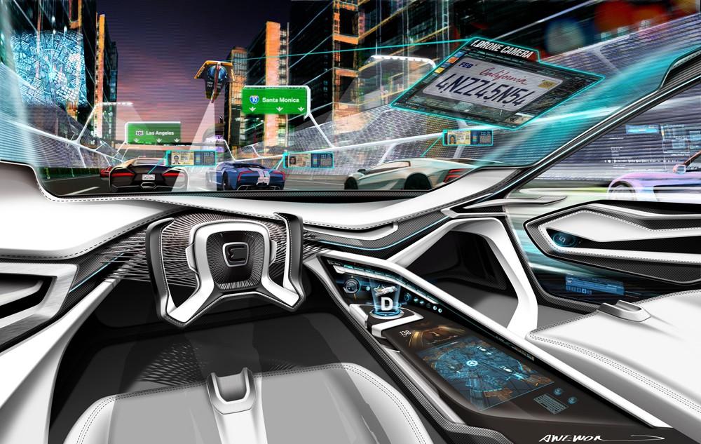 Концепция полицейского автомобиля 2025 от BMW
