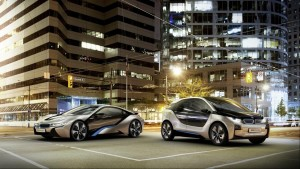 Концепты BMW i3 и i8
