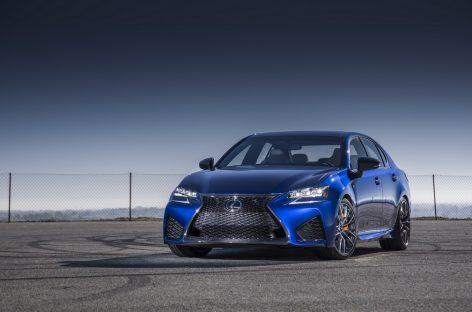 Новый Lexus GS F покажет себя в Гудвуде