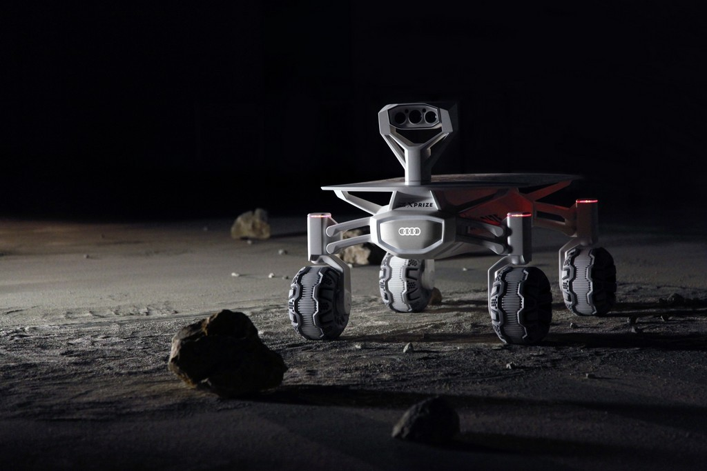 Луноход Audi lunar quattro