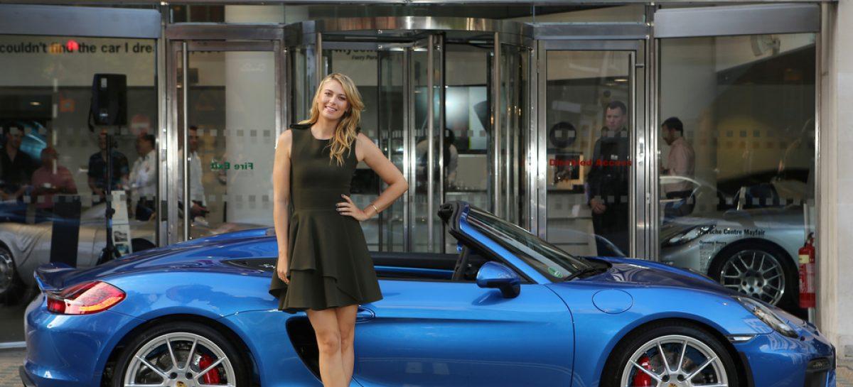 Porsche приостанавливает сотрудничество с Шараповой