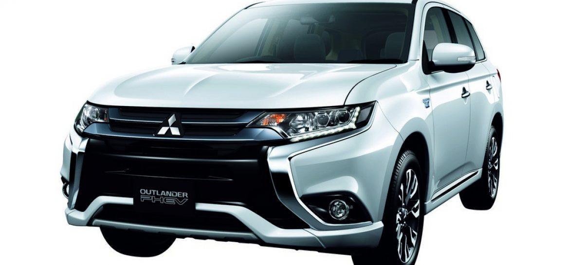 Начаты продажи нового Mitsubishi Outlander PHEV