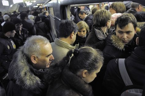 В метро по новым правилам