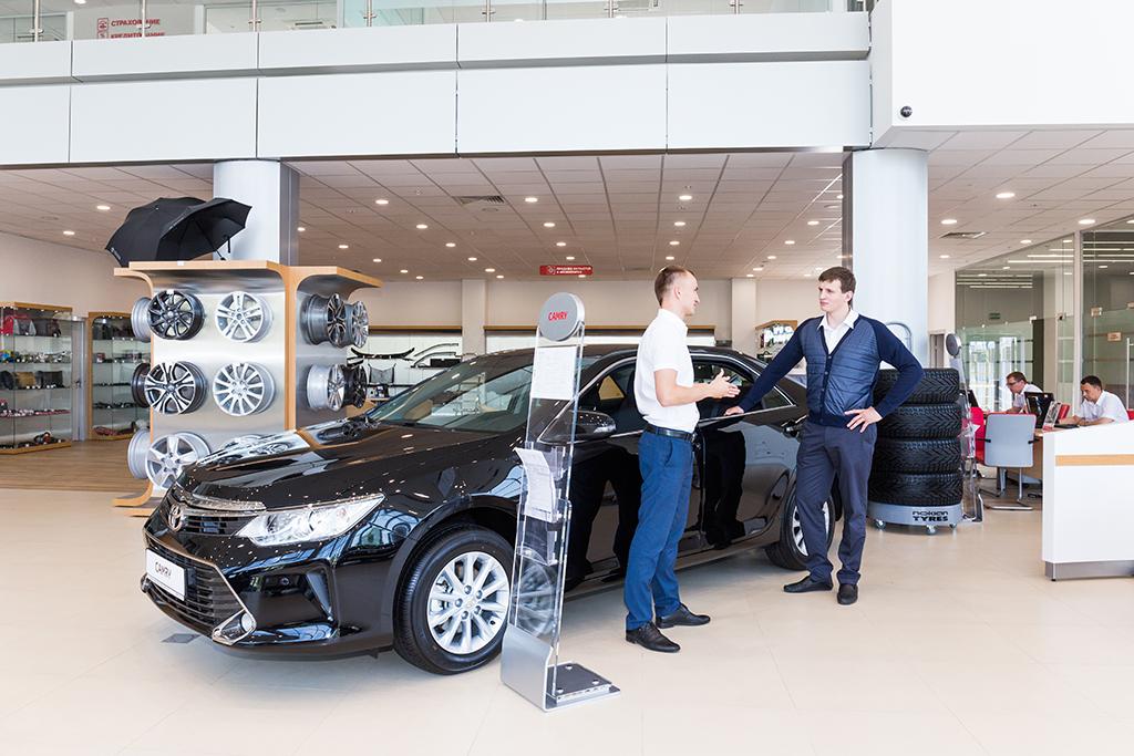 Новый дилерский центр Toyota в Москве