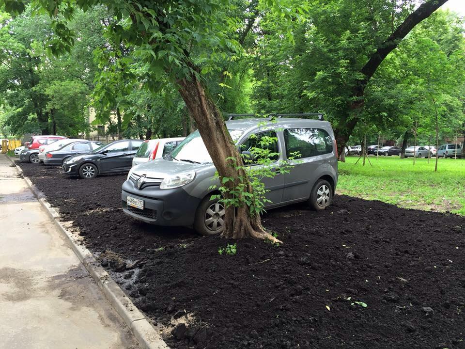 Отличное место для парковки