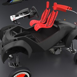 Первый автомобиль, напечатанный на 3D-принтере, компания Local Motors