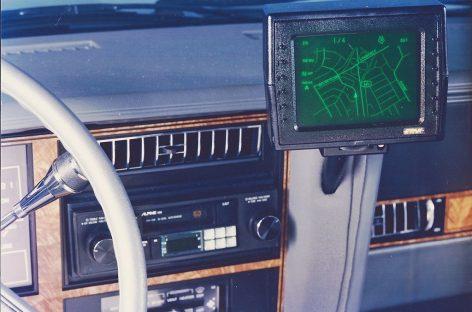 Первый автомобильный навигатор Etak
