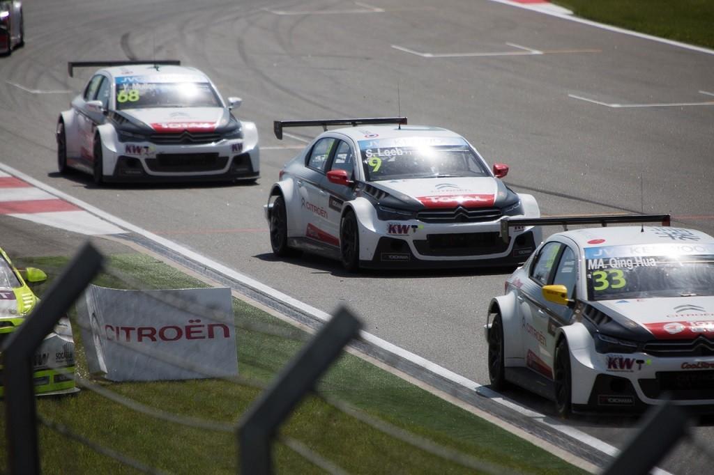Победа Citroen в WTCC на Moscow Raceway