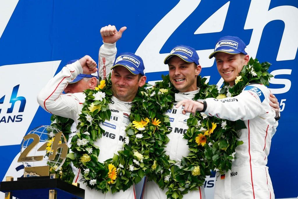 Победители команды Porsche в 24 часах Ле-Мана 2015