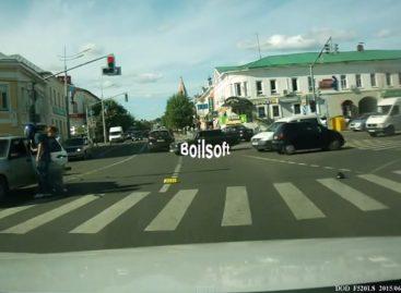 До пешеходного перехода не подбросите?