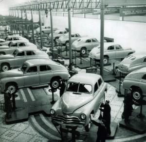 Производство на Горьковском автозаводе