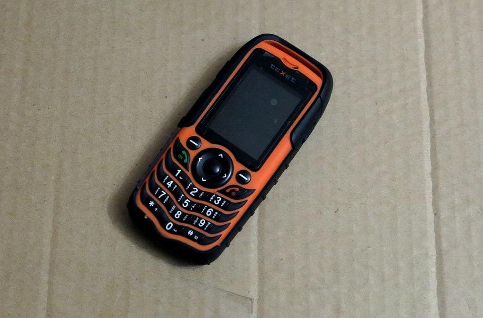 Резервный телефон Texet