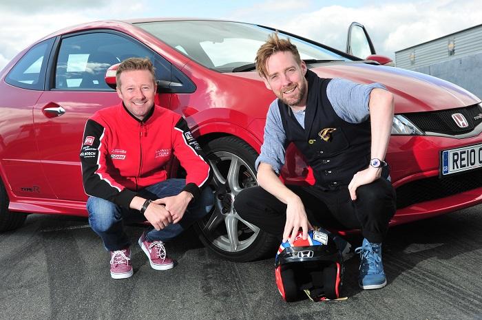 Рики Уилсон представляет новый Honda Civic Type R в Гудвуде