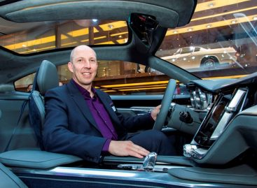 Дизайнер Volvo признан Дизайнером интерьера года