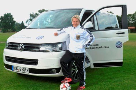 Сотрудница Volkswagen приняла участие в Чемпионате Европы по футболу среди глухих спортсменов