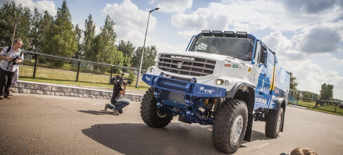 КАМАЗ-мастер проверит новый грузовик в степях Калмыкии